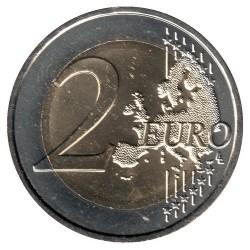Moneda > 2euros, 2015 - Andorra  (25º Aniversario - Adhesión a la UE) - reverse