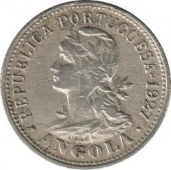Coin > 20centavos, 1927-1928 - Angola  - obverse