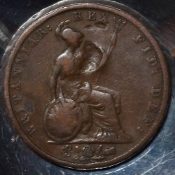 Moeda > ½pence, 1831-1837 - Reino Unido  - obverse