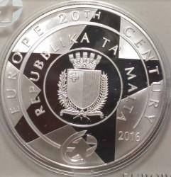 Moneta > 10euro, 2016 - Malta  (Antonio Sciortino) - obverse