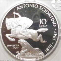 Moneta > 10euro, 2016 - Malta  (Antonio Sciortino) - reverse