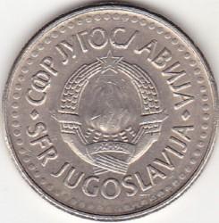 Monedă > 5dinari, 1990-1992 - Iugoslavia  - obverse