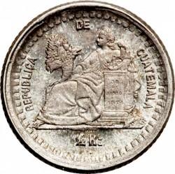 Moeda > ½real, 1879-1880 - Guatemala  - reverse