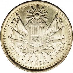 Moeda > 1real, 1859-1860 - Guatemala  - reverse