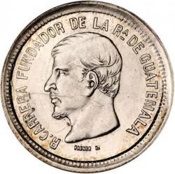 Moneta > 1real, 1866-1867 - Guatemala  - obverse