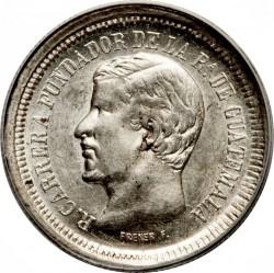 Монета > 1реал, 1868-1869 - Гватемала  - obverse