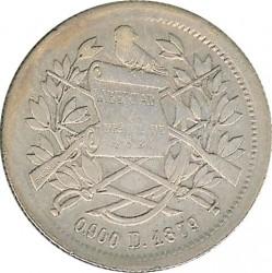 Moneda > 1real, 1879 - Guatemala  - obverse