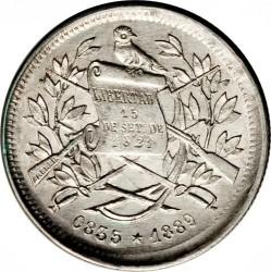Moneda > 1real, 1883-1893 - Guatemala  - obverse