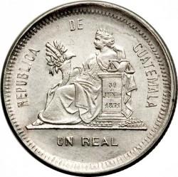Moneda > 1real, 1883-1893 - Guatemala  - reverse