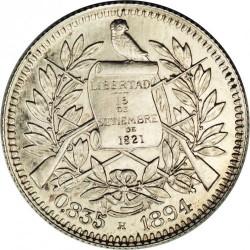 Moneda > 1real, 1894-1898 - Guatemala  - obverse