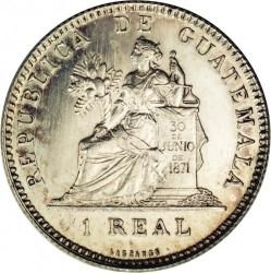 Moneda > 1real, 1894-1898 - Guatemala  - reverse