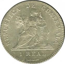 Кованица > 1реал, 1899 - Гватемала  (W/o fineness on obverse) - reverse