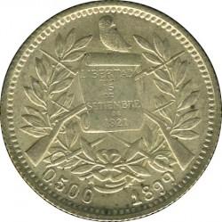 Moeda > 1real, 1899-1900 - Guatemala  - obverse