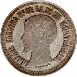 Монета > 2реала, 1859 - Гватемала  - obverse