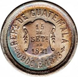 Moneda > 2reales, 1872-1873 - Guatemala  - obverse