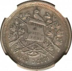 Moneda > 2reales, 1879 - Guatemala  - obverse