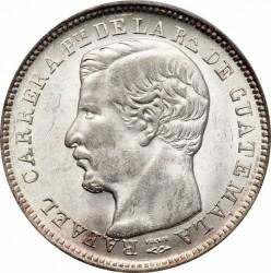 Moneda > 4reales, 1863-1865 - Guatemala  - obverse