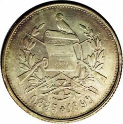 Монета > 4реала, 1892 - Гватемала  - obverse