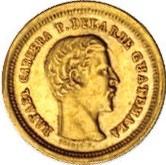 Moneta > 4reals, 1860-1864 - Guatemala  - obverse