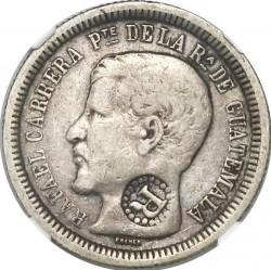 Moneda > 2reales, 1862-1865 - Guatemala  - obverse
