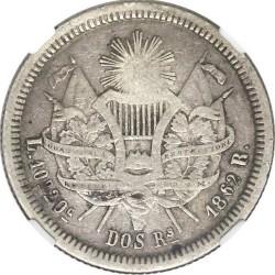 Moneda > 2reales, 1862-1865 - Guatemala  - reverse