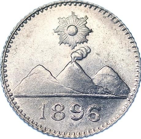 Real 1894 1899 Guatemala Munt Waarde Ucoin