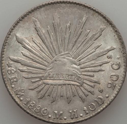 8 Reales 1824 1897 Mexiko Münzen Wert Ucoinnet