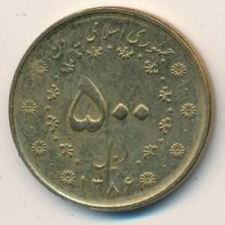 מטבע > 500ריאל, 2007 - איראן  - reverse