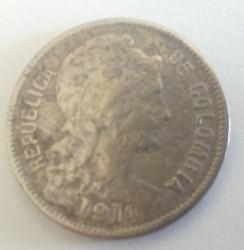 Monedă > 2peso(papelmoneda), 1907-1914 - Columbia  - obverse