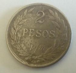 Monedă > 2peso(papelmoneda), 1907-1914 - Columbia  - reverse