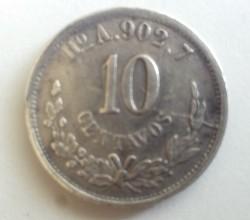 Münze > 10Centavos, 1869-1897 - Mexiko  - reverse