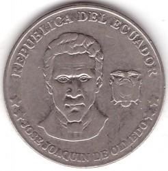 Moeda > 25centavos, 2000 - Equador  - obverse