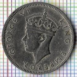 Monēta > 1šiliņš, 1947 - Dienvidrodēzija  - obverse