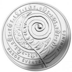 Монета > 1½євро, 2018 - Литва  (Традиційні свята Литви - Свято Купала) - reverse