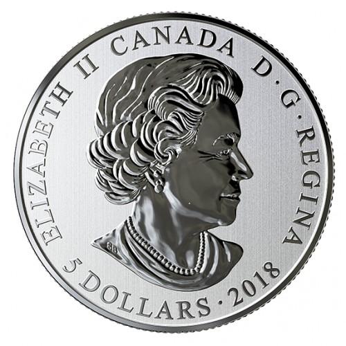 5 Dollar 2018 Maple Leaf Red Kanada Münzen Wert Ucoinnet