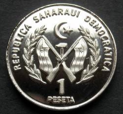 Монета > 1песета, 2018 - Западная Сахара  - obverse