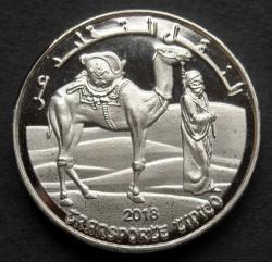 Монета > 1песета, 2018 - Западная Сахара  - reverse