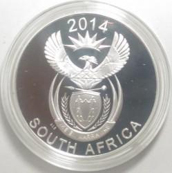 Moneta > 20centów, 2014 - Afryka Południowa  (Delfin) - obverse