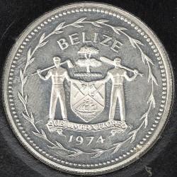 Münze > 1Dollar, 1974-1981 - Belize  - obverse