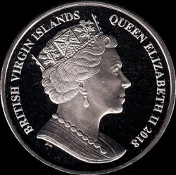 Moneda > 1dólar, 2018 - Islas Vírgenes Británicas  (Copa Mundial de Fútbol de Rusia 2018) - reverse