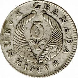 Monedă > 1real, 1847 - Columbia  - obverse