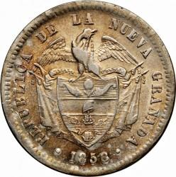 Monedă > 1peso, 1855-1859 - Columbia  - obverse