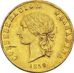 Moneda > 10pesos, 1858-1862 - Colòmbia  - obverse