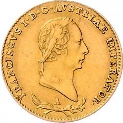 Монета > ½соврано, 1822-1831 - Ломбардо-Венеційське  - obverse