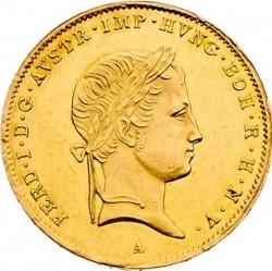 Монета > 1соврано, 1837-1847 - Ломбардо-Венеційське  - obverse