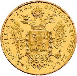 Монета > 1соврано, 1837-1847 - Ломбардо-Венеційське  - reverse