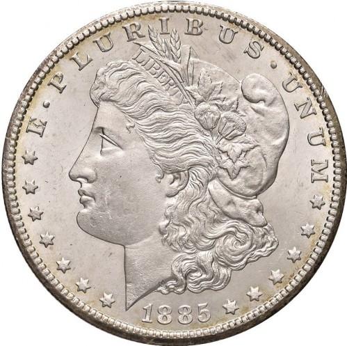 1 Dollar 1885 Morgan Dollar Usa Münzen Wert Ucoinnet