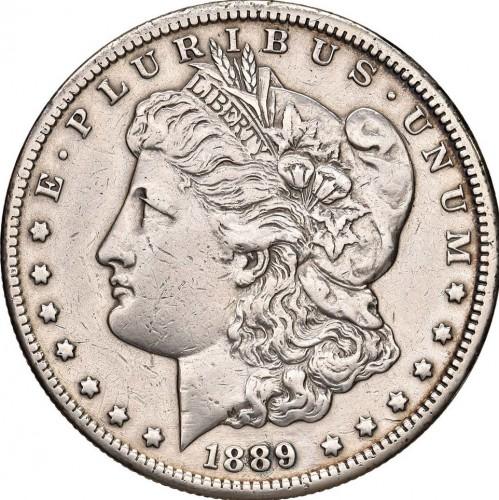 1 Dollar 1889 Morgan Dollar Usa Münzen Wert Ucoinnet