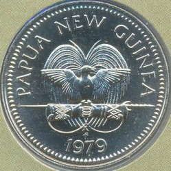 Mynt > 20toea, 1979 - Papua Ny-Guinea  - obverse