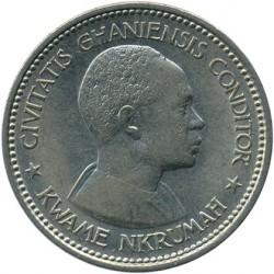 Кованица > 2шилинга, 1958 - Гана  - obverse